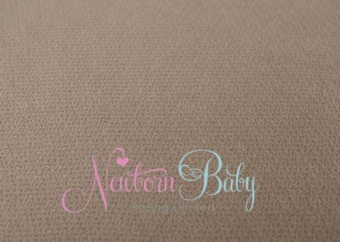 Textured Fabric Backdrop - Taupe